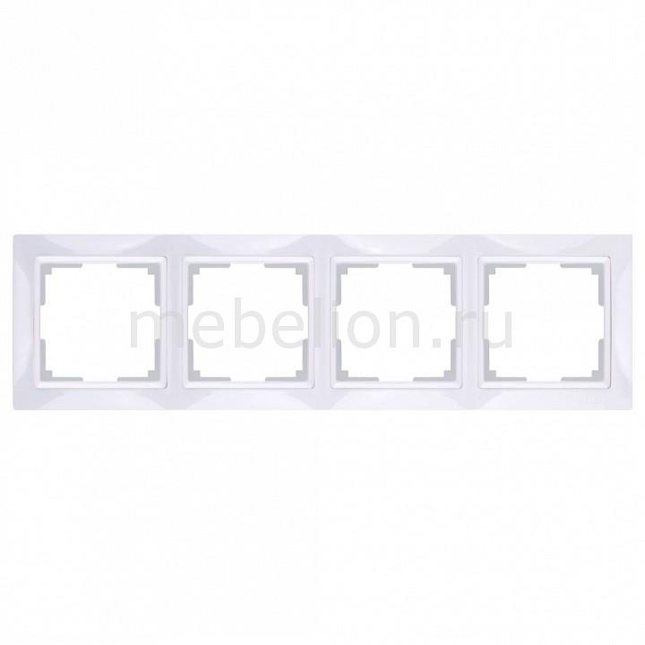 Рамка на 4 поста Werkel Snabb Basic WL03-Frame-04 рамка на 4 поста werkel snabb basic wl03 frame 04