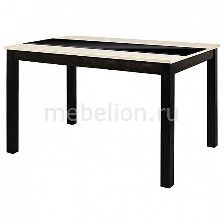 Стол обеденный Мебель Трия Диез Т7 С-326 венге/дуб сильвер стол бештау диез т11 с 347 венге дуб сильвер