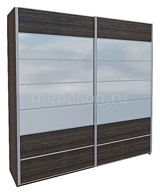 Шкаф для одежды Николь МН-020-03С белый /зебравуд mebelion.ru 53663.000
