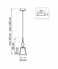 Подвесной светильник Lightstar 806010 Simple Light
