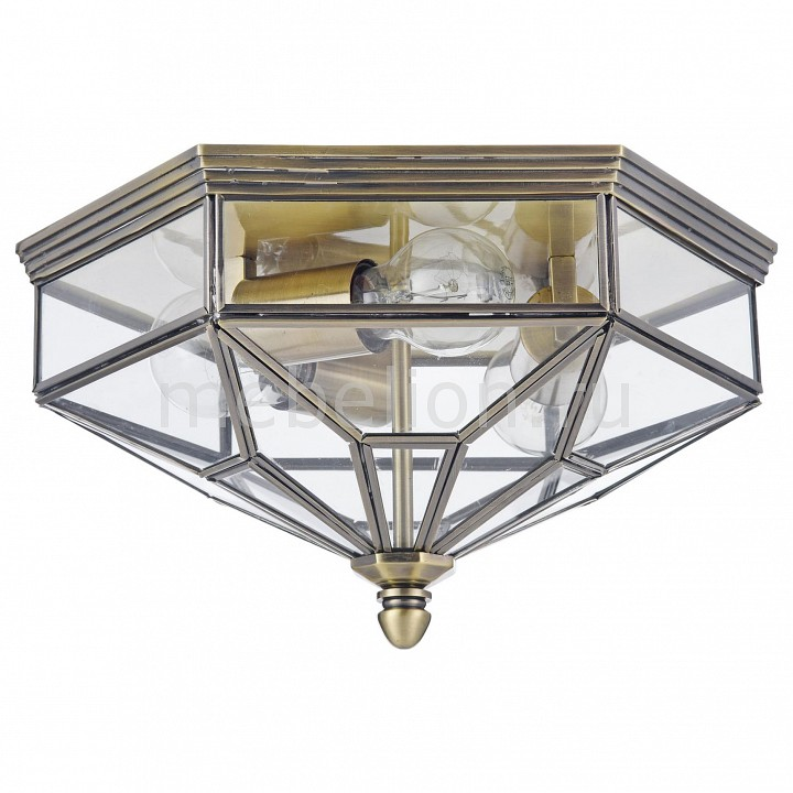 Накладной светильник Maytoni Zeil H356-CL-03-BZ