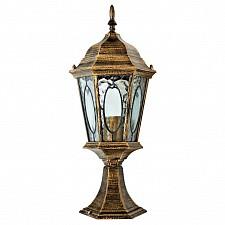Наземный низкий светильник Витраж с овалом 11330