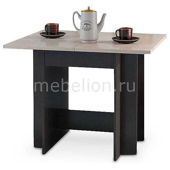 Стол обеденный Мебель Трия Кельн Т1 венге цаво/дуб белфорт тумбочка мебель трия прикроватная токио пм 131 03 см дуб белфорт венге цаво