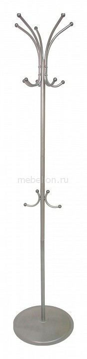 Вешалка-стойка Пико 4 металлик