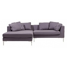 Диван Charles Sofa  Sectional Left Grey Cashmere  DG-F-SF323-1