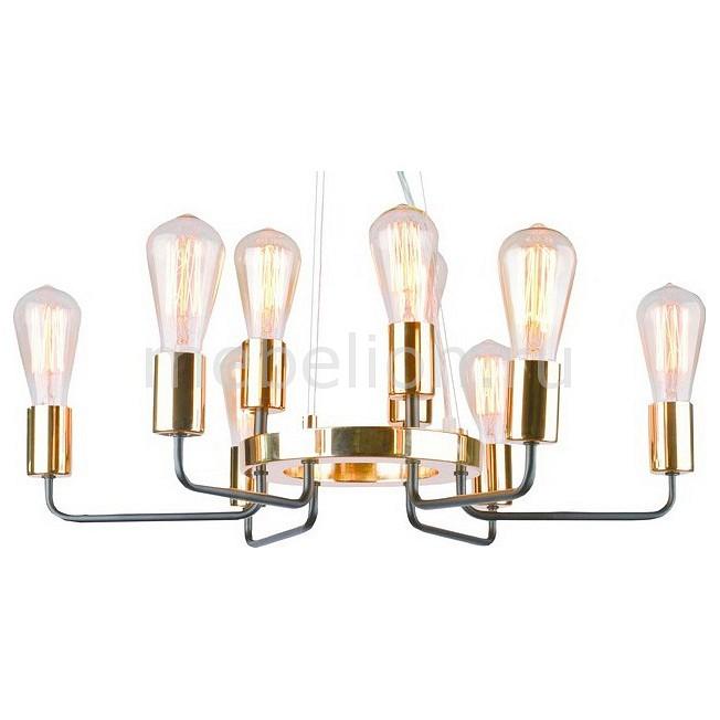 Подвесная люстра Arte Lamp Gelo A6001LM-9BK подвесная люстра arte lamp gelo a6001lm 9bk