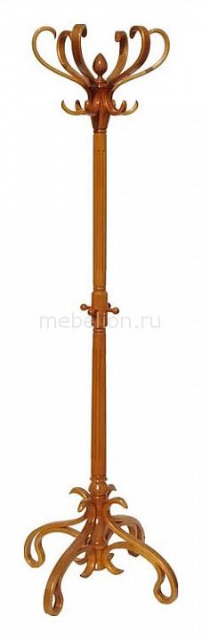 Вешалка-стойка В-4Н светло-коричневая