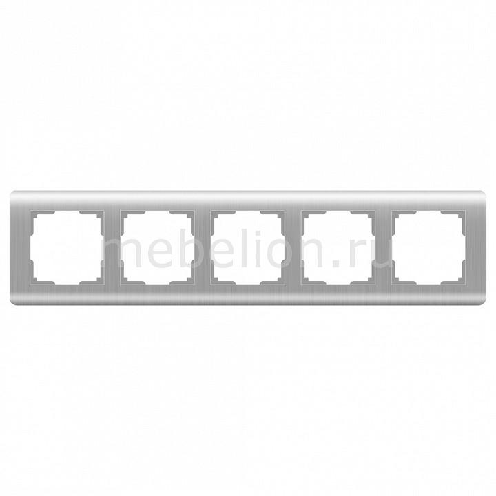 Рамка на 5 постов Werkel Stream WL12-Frame-05 цена