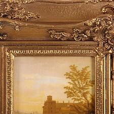 Зеркало настенное (94х40 см) 61-264