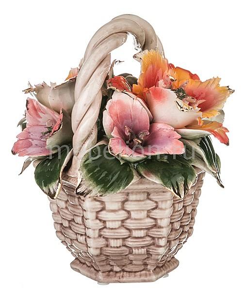 Статуэтка (23 см) Корзинка с цветами 92-239