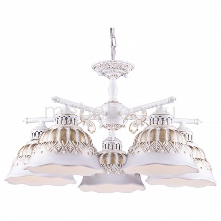 Подвесная люстра Arte Lamp Chiesa A2814LM-5WG подвесная люстра arte lamp chiesa a2814lm 5wg