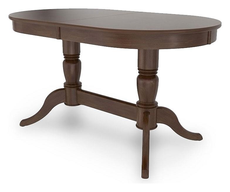 Стол обеденный Столлайн Фламинго 05.06 орех темный стол обеденный столлайн фиоре 01 06 орех темный