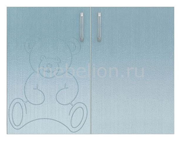 Двери Флауэ СТЛ.093.15 шелк бирюза