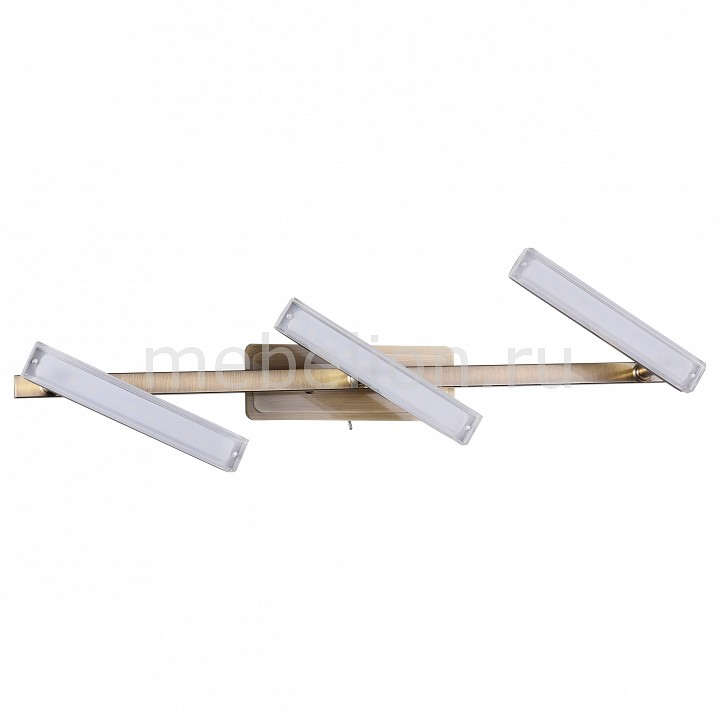 Бра IDLamp 406 406/3A-Oldbronze потолочный светильник idlamp 406 406 3a oldbronze