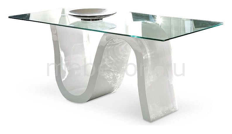 Стол обеденный Dupen DT-04 белый стол обеденный dupen dt 02 орех