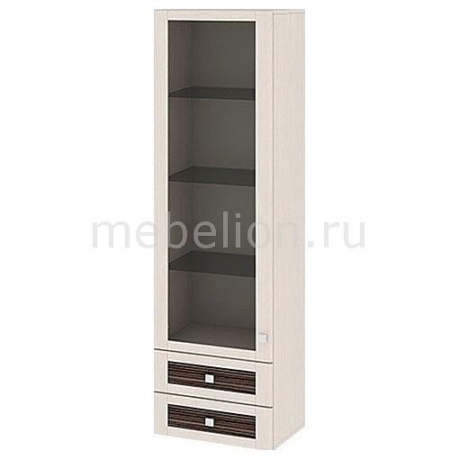 Шкаф-витрина Фиджи ШН2я(12)_32-19_18 дуб белфорт/каналы дуба mebelion.ru 7990.000