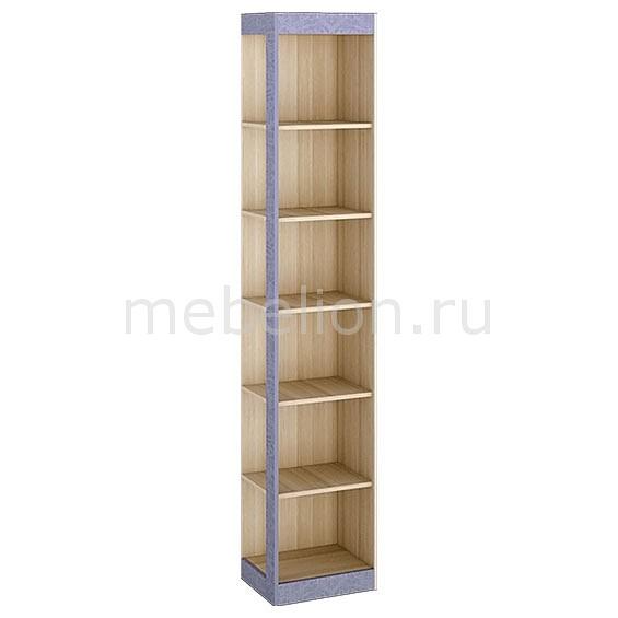 Стеллаж комбинированный Мебель Трия Индиго ясень ПМ-145.13 коимбра/навигатор