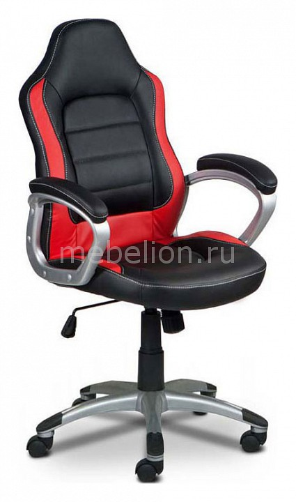 Кресло компьютерное Бюрократ Бюрократ CH-825S/Black+Rd черный/красный бюрократ бюрократ ch 296nx moto rd красный мотоциклы