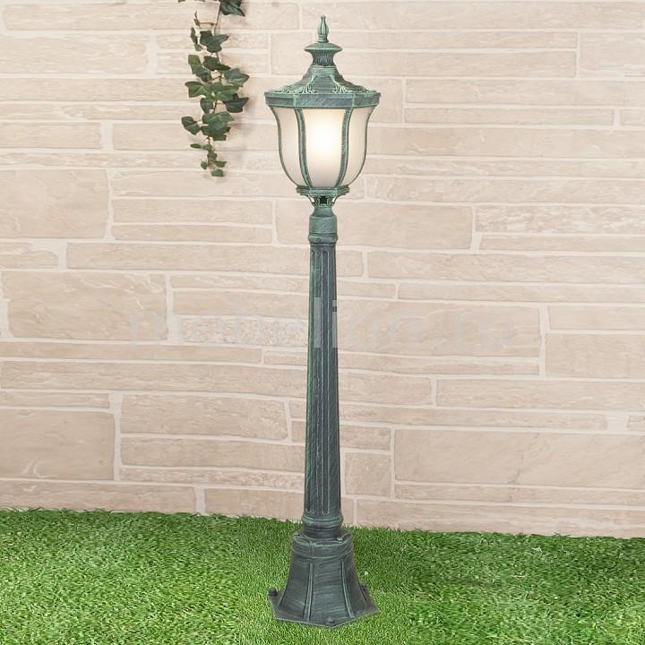 Наземный высокий светильник Elektrostandard Taurus F малахит (арт. GLXT-1458F) elektrostandard taurus f 3 черное золото арт glxt 1458f 3