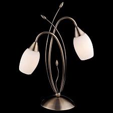 Настольная лампа декоративная 22080/2T античная бронза