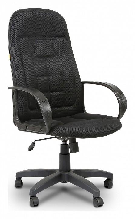 Кресло компьютерное Chairman Chairman 727 черное компьютерное кресло chairman 700 black 00 07014825