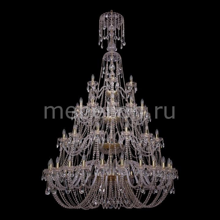 Подвесная люстра Bohemia Ivele Crystal 1406/24+12+12+6/530-230/G 1406