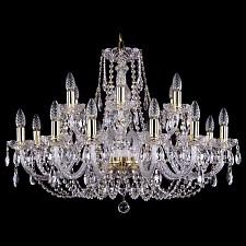 Подвесная люстра Bohemia Ivele Crystal 1406/12+6/300/G 1406