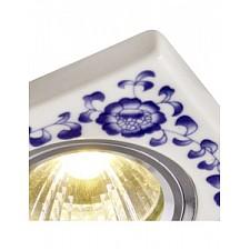 Встраиваемый светильник Arte Lamp A7034PL-1WH Russo