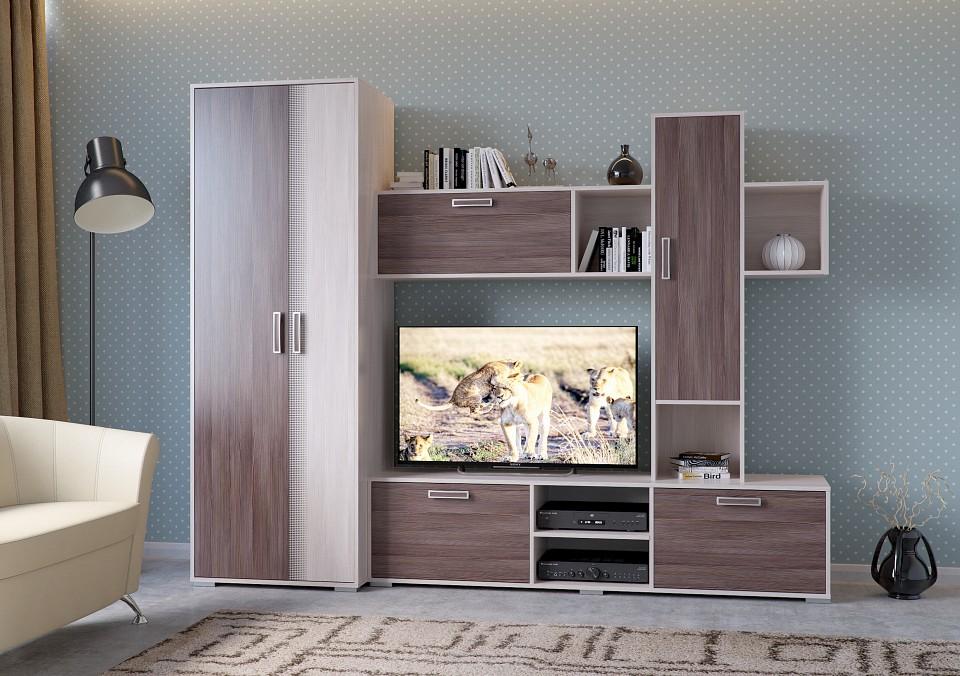 Стенка-горка Гранд-Кволити Кубика 6-568 гранд кволити стенка для гостиной венеция 6 915