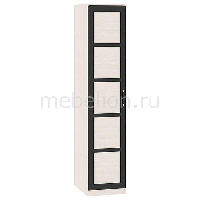 Шкаф для белья Токио СМ-131.10.001 дуб белфорт/венге цаво/дуб белфорт