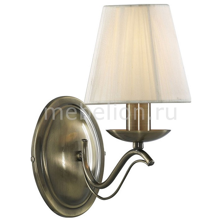 Бра Arte Lamp Domain A9521AP-1AB  arte lamp бра artelamp a9521ap 1ab