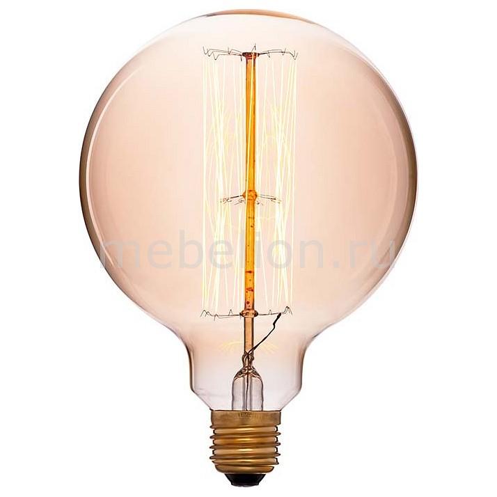Лампа накаливания Sun Lumen G125 E27 240В 60Вт 2200K 054-027