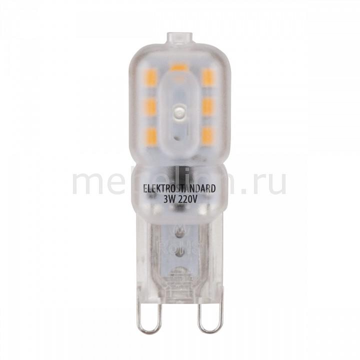 Лампы светодиодная Elektrostandard G9 LED 3W 220V 3300K e27 3w 48 led infrared sensor motion activated white lamp 220v