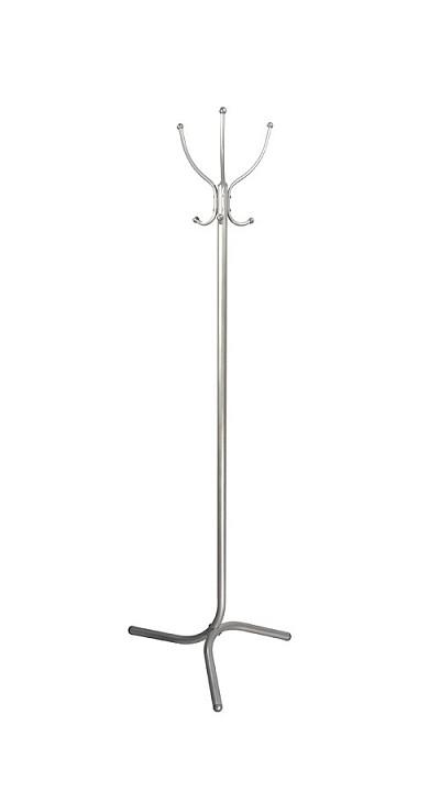 Вешалка напольная Мебелик Вешалка-стойка М-1 металлик вешалка напольная мебелик вешалка стойка м 1 металлик