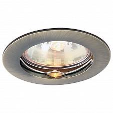 Встраиваемый светильник Arte Lamp A2103PL-1AB Basic