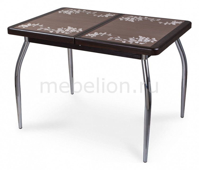 Стол обеденный Домотека Шарди ПР с плиткой и мозаикой