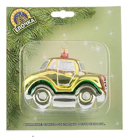 Елочная игрушка (5.1 см) Машинка 860-348