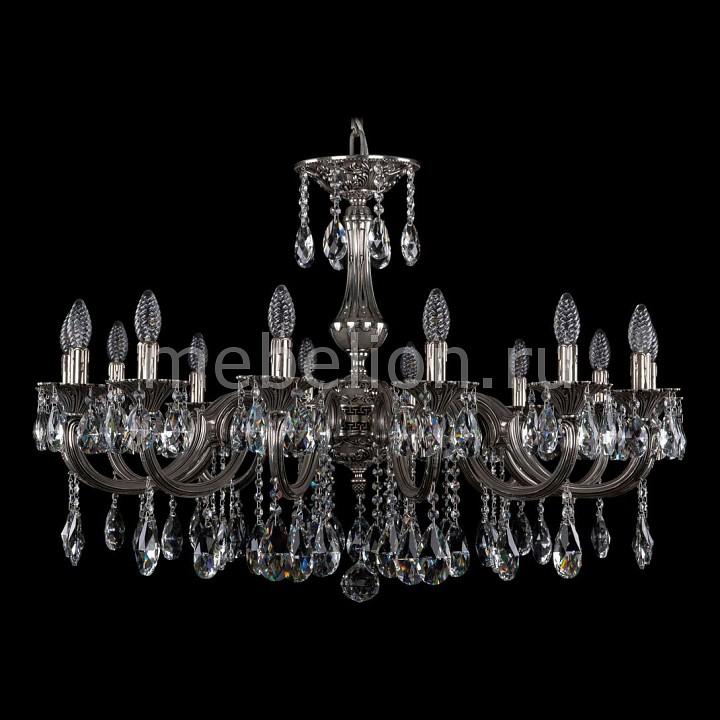 Подвесная люстра Bohemia Ivele Crystal 1702/14/335/A/NB 1702