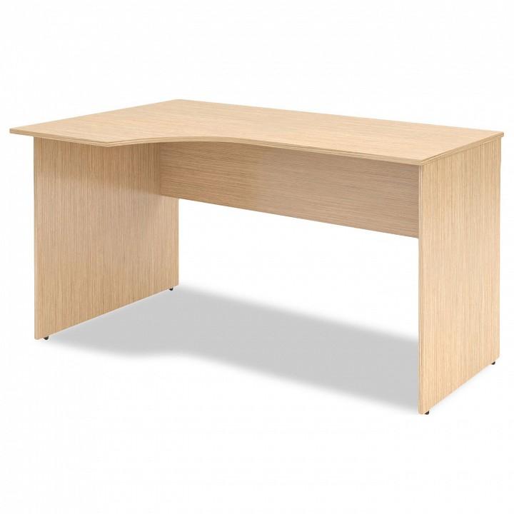 Стол офисный Skyland Simple SET140-1(L) canghpgin светлый серый цвет номер м