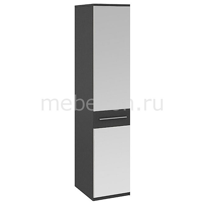 Мебель Трия Шкаф для белья Сити СМ-194.07.002 тексит/каттхилт для ванной