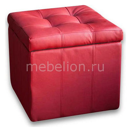 Пуф-сундук Модерна красная