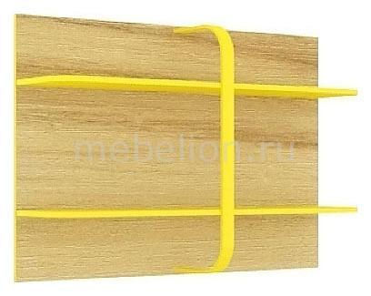 Полка навесная Джинс 507.190 сантана/джинс/желтый бриллиант