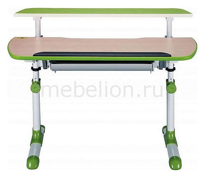 Парта Бюрократ Conductor-12 песочный/зеленый mebelion.ru