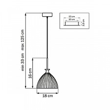 Подвесной светильник Lightstar 810021 Agola