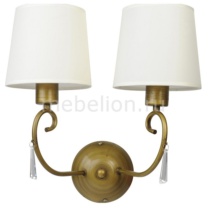 Бра Arte Lamp A9239AP-2BR Carolina