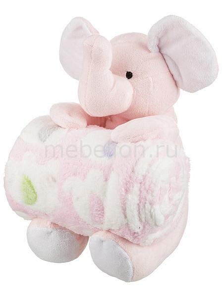 Плед детский АРТИ-М (75х100 см) Розовый слоник статуэтка арти м 37 см дама 50 029