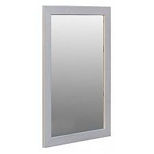 Зеркало настенное Мебелик Зеркало навесное Берже 24-90 белый ясень
