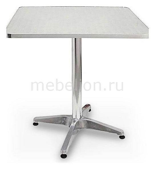 Стол для сада LFT-3126 серебристый металлик mebelion.ru 3910.000