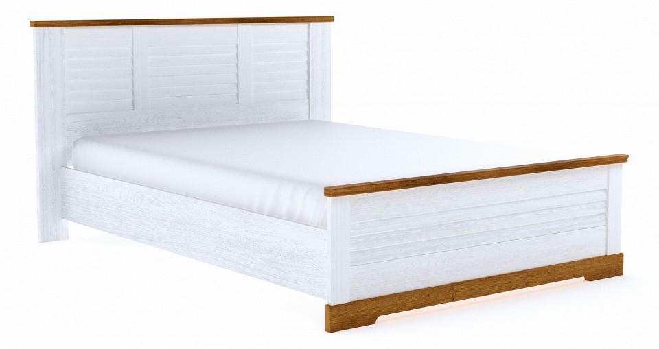 Кровать полутораспальная СБК Кантри djeco набор для создания картины из цветного песка лес страны чудес