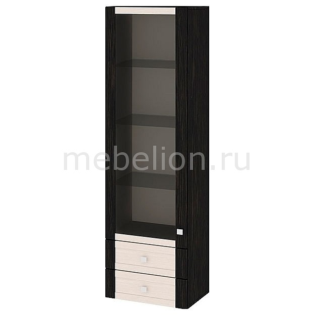 Шкаф-витрина Фиджи ШН2я(12)_32-19_18 венге цаво/дуб белфорт/венге цаво